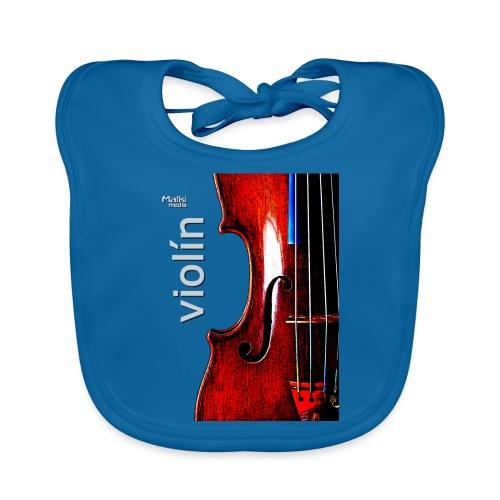 Geige i - Baby Bio-Lätzchen