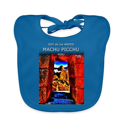 SOJA de los ANDES - Machu Picchu II - Babero de algodón orgánico para bebés