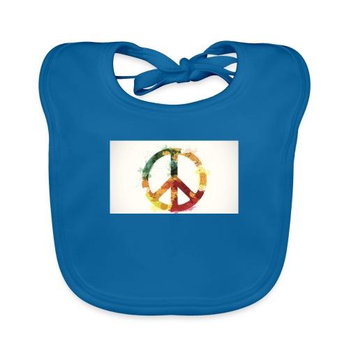 peace mok - Bio-slabbetje voor baby's