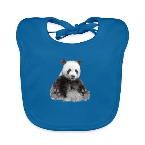 Panda - Bavoir bio Bébé