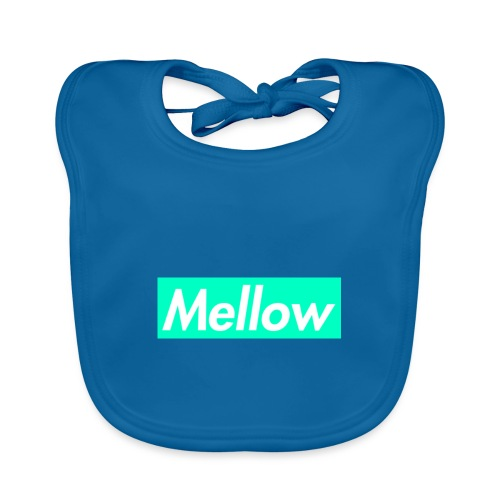 Mellow Light Blue - Organic Baby Bibs