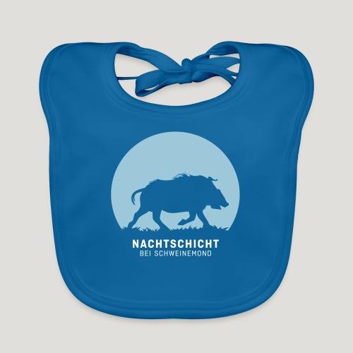 Nachtschicht bei Schweinemond! Jäger Shirt Jaeger - Baby Bio-Lätzchen