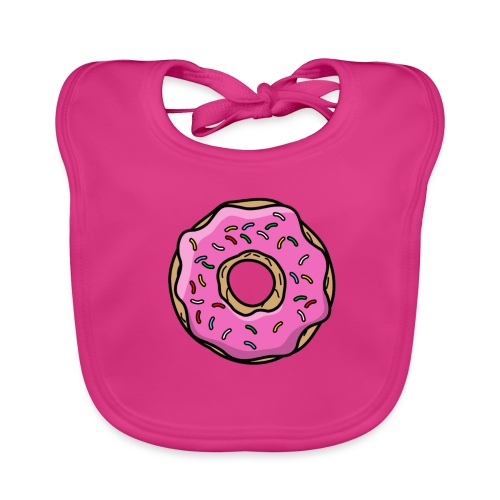 donut - Baby Bio-Lätzchen