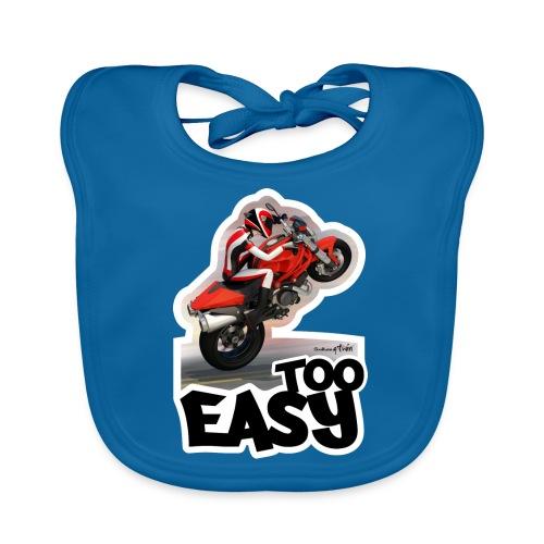Ducati Monster Wheelie A - Babero ecológico bebé