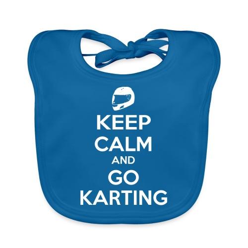 Keep Calm and Go Karting - Baby Organic Bib