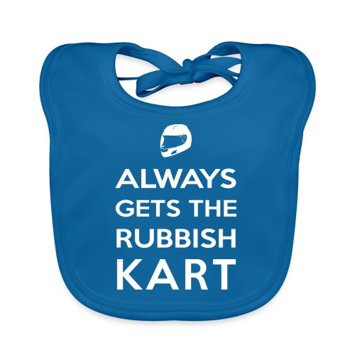 I Always Get the Rubbish Kart - Baby Organic Bib