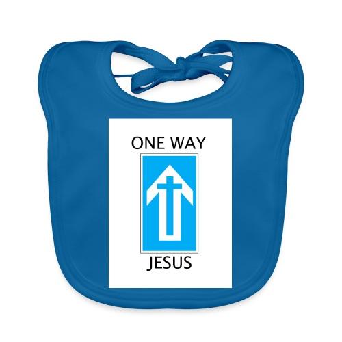 One Way, Jesus - Baby Organic Bib