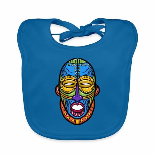 Máscara - Babero de algodón orgánico para bebés