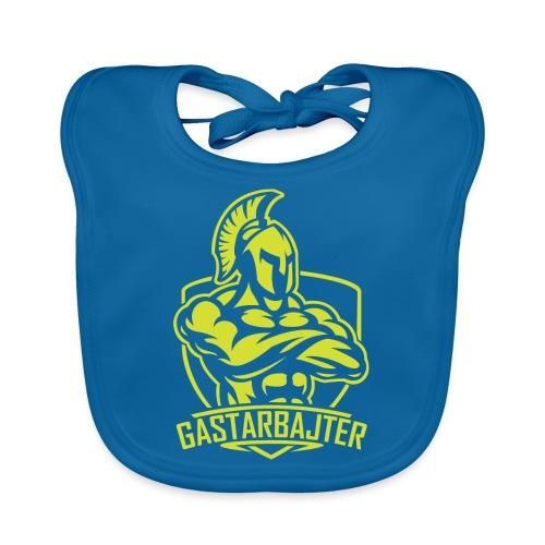 gastarbajter logo spartan neon yellow png - Baby Bio-Lätzchen