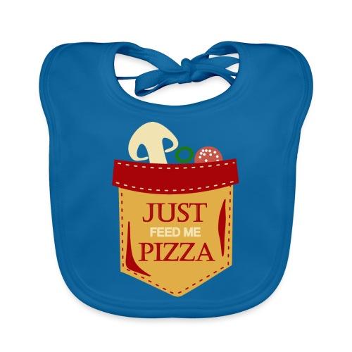 Dammi solo la pizza - Bavaglino