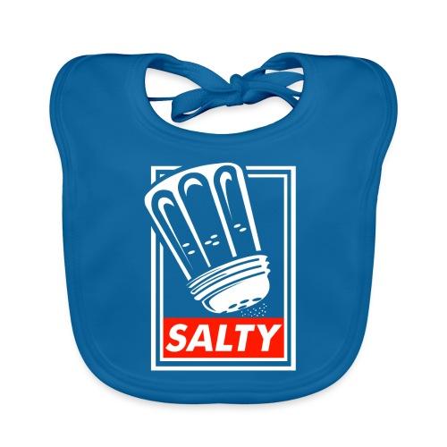 Salty white - Baby Organic Bib