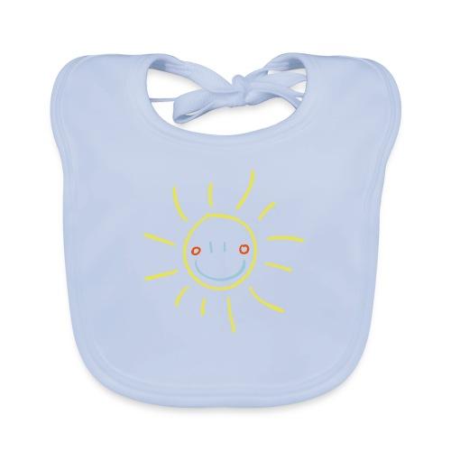 Sun Child s Drawing Pixellamb - Baby Bio-Lätzchen