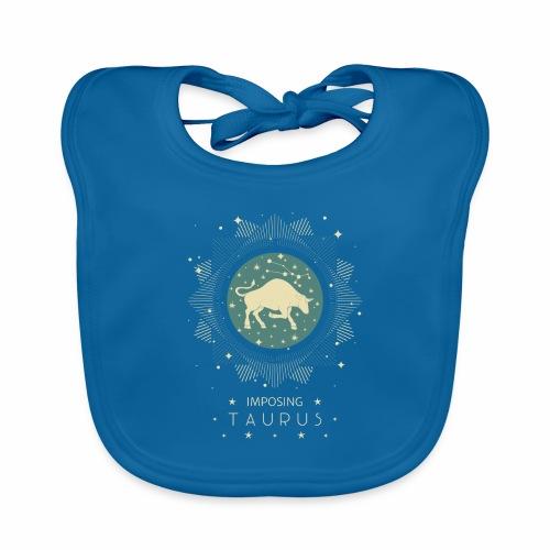 Sternzeichen Taurus - Imposanter Stier April Mai - Baby Bio-Lätzchen
