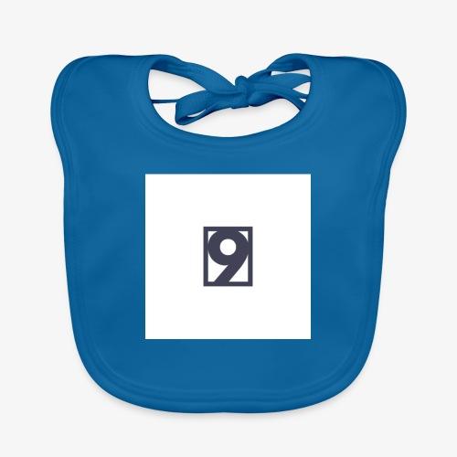 9 Clothing T SHIRT Logo - Organic Baby Bibs