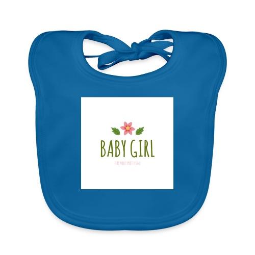Baby Girl - Bio-slabbetje voor baby's