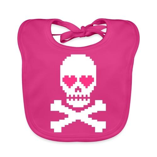 Skull Love - Bio-slabbetje voor baby's