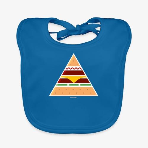 Triangle Burger - Bavaglino ecologico per neonato
