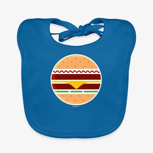 Circle Burger - Bavaglino ecologico per neonato