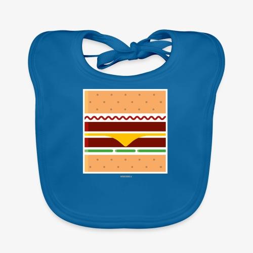 Square Burger - Bavaglino ecologico per neonato
