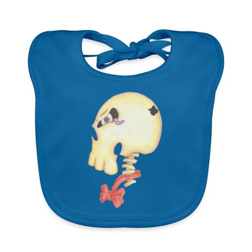 Bow Tie Skull Tee - Organic Baby Bibs