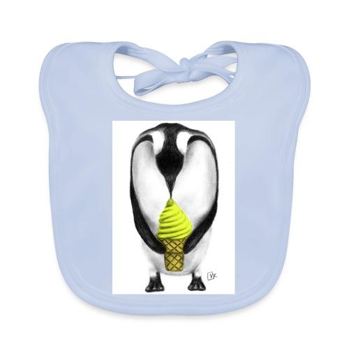 Penguin Adult - Baby Organic Bib