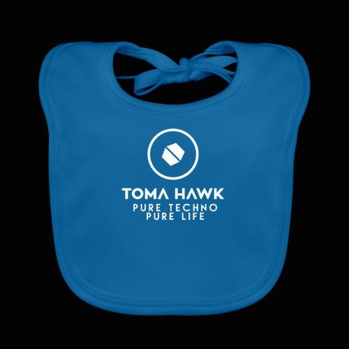 Toma Hawk - Pure Techno - Pure Life White - Baby Bio-Lätzchen