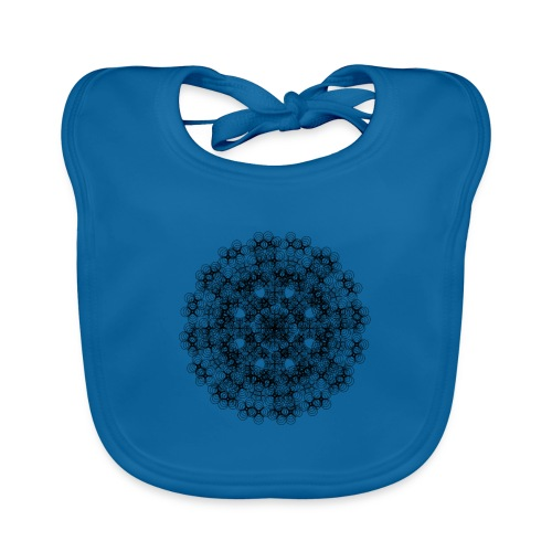 Flower mix - Baby Organic Bib