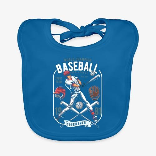 Baseball - Bavoir bio Bébé