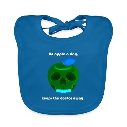 An apple a day - Baby Bio-Lätzchen