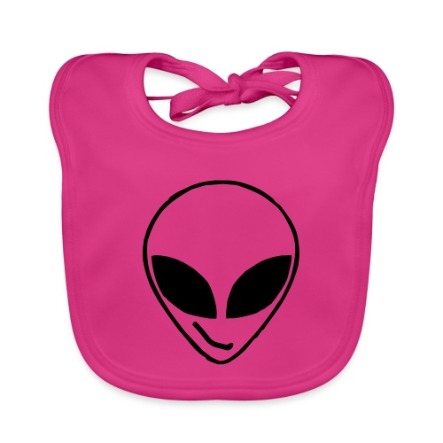 Alien simple Mask - Baby Organic Bib