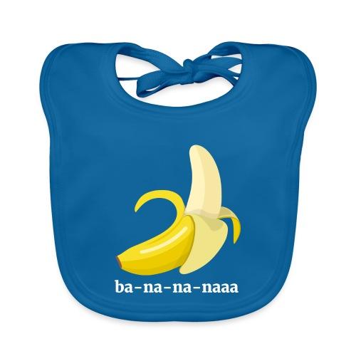 Lustiges Bananen Shirt - Baby Bio-Lätzchen