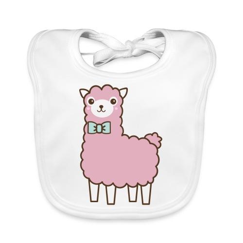 fluffy Lama - Baby Bio-Lätzchen