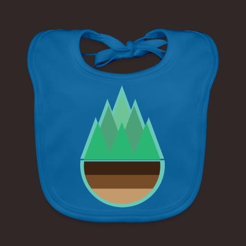 Wald | Natur Baum Erde Bäume - Baby Bio-Lätzchen