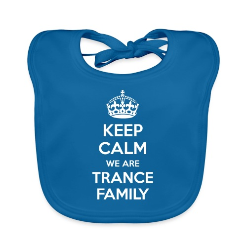 keep calm tf - Baby Organic Bib
