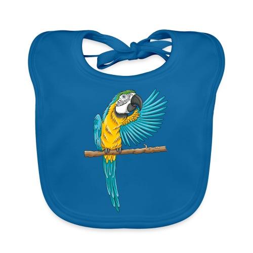 pfiffiger Papagei - Baby Bio-Lätzchen