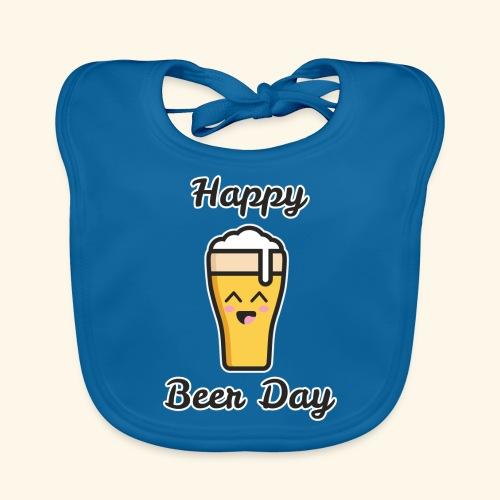 happy beer day - Bavoir bio Bébé