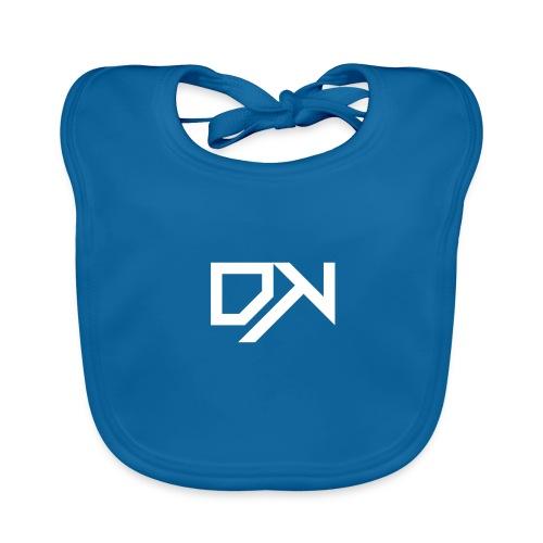 DewKee Logo Shirt Black - Baby Organic Bib