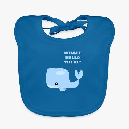 Whale Hello There - Hagesmække af økologisk bomuld