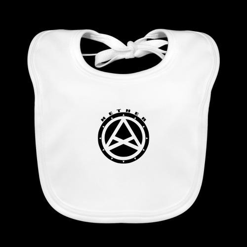 Nether Crew Black\White T-shirt - Bavaglino ecologico per neonato