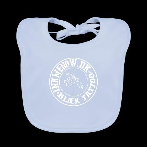 logo hvid png - Baby økologisk hagesmæk