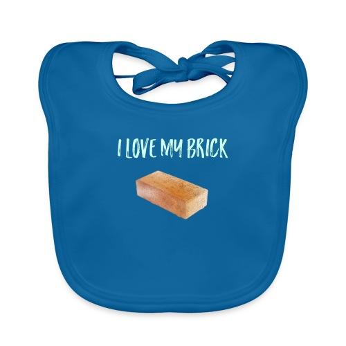 I love my brick - Baby Organic Bib