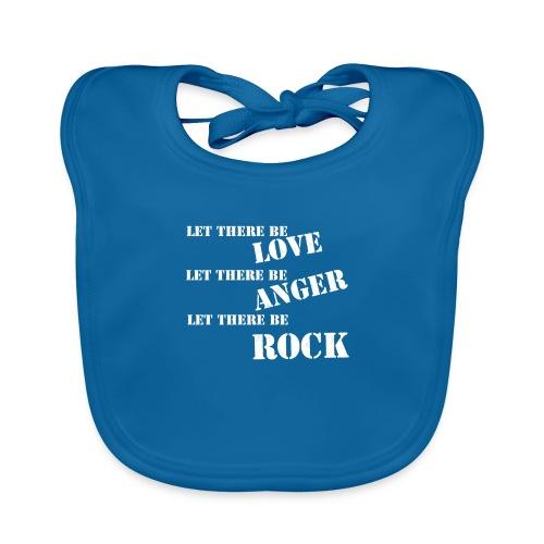 Love Anger Rock - Baby Organic Bib
