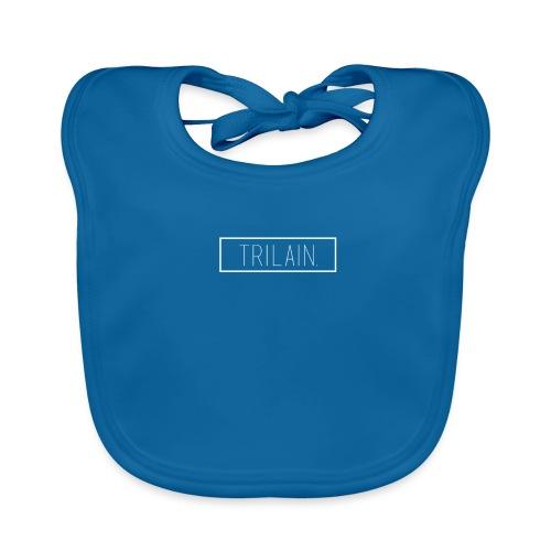 Trilain - Box Logo T - Shirt Black - Bio-slabbetje voor baby's