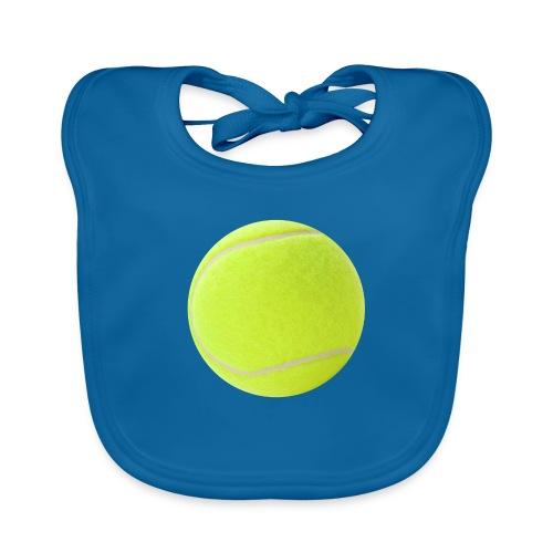 Pelota Padel / Tenis - Babero de algodón orgánico para bebés