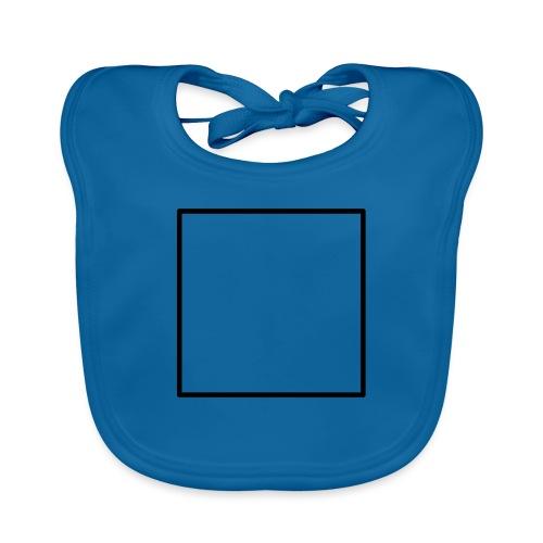 Square t shirt black - Bio-slabbetje voor baby's