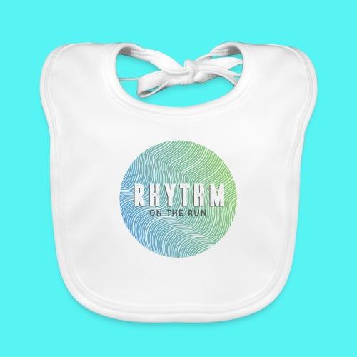 Rhythm On The Run Logo - Baby Organic Bib