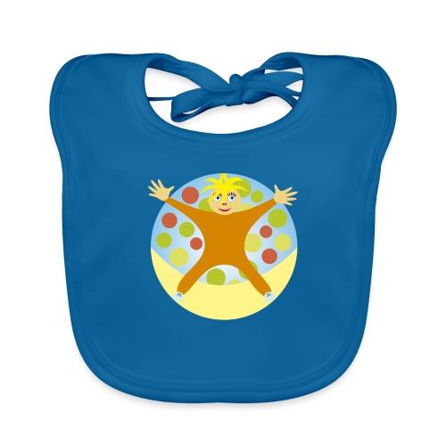NINO_estrella - Babero de algodón orgánico para bebés