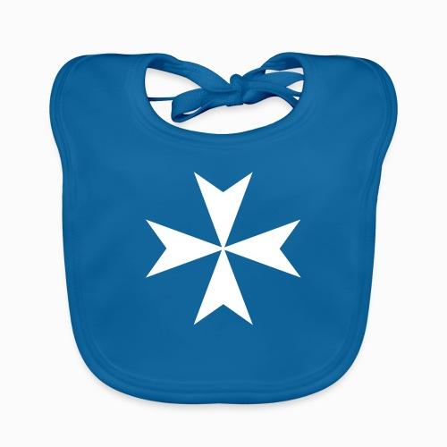 Croix de Malte - Bavoir bio Bébé