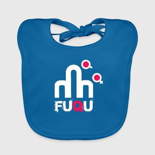 T-shirt FUQU logo colore bianco - Bavaglino