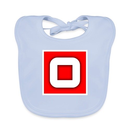 Vanlig Logo (tonåring) - Ekologisk babyhaklapp